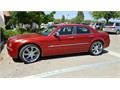 2006 Chrysler 300 C Heritage w 57L V8 22 wheels and new tires 109K  Loaded metallic red  Exce
