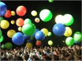 Special FX balloons  Climb into balloons  video projection balloons  Audience balloon drop balloo