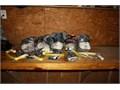 Zipline Complete System 1-Brake 4-Trolleys 5-Lanyards 5-Harnesses 50000 500 Foot 516 stain