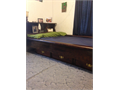 Waterbed Super Single Bookcase Headboard  6 drawers underneath Mattress Liner Heater Side rails 54x