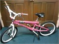 Girls Bike -- 20  Pretty Pink Stitch model  Like New  Heavy-Duty  Sturdy Built Magna Bike