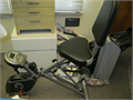 Exerpeutic Semi-recumbant bike  Rarely used 8-level magnetic tension control systemLarge seat c
