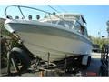 Reinell 24 cabin cruiser used inout mercruiser  trailer 302 ci needs tlc work as is big boa