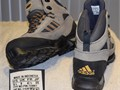 Mens Adidas ClimaProof Shoes 723001 Grey  Black Color New Old Stock Size 9  2000 56
