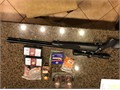 Knight 50 cal disc muzzleloader Nikon prostaff scope powder bullets primer and cleaning supplie