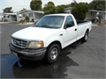 1999 Ford F150 Long bed Rebuilt V-6 auto Bed liner Good work truck Runs great Bought it to mov