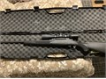 Savage 111 caliber is 30 06 Comes with Burris 3x9x50 scope one piece scope mount and one box of amm
