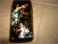 COLLECTOR WINE BOTTLE GREAT FOR FLOWER VASE SEE PICS CONTACT mrglasscarsyahoocom 1000 714-52