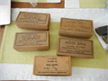 5 boxes World War II era 45 Colt auto ammo 3 full 2 almost full In the original boxes asking 22