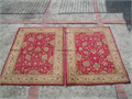 Legend area rugs 2 red and ivory 5 X 7 3 hallway runners 65 X 21  100 polypropylene yam 100