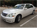 2004 Lexus LS 430 Excellent condition throughout Svc records from Lexus dealer Beautiful pearl whi