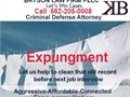 Expungement  Free consultation Clean your criminal recordCall Kerry M Bry