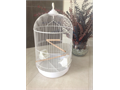 Medium Round Cage never been usedColor WhiteShape DomeSize 1325Comes with 2 perch