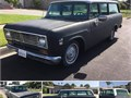 1972 International Travelall 1010 Salvage Private Party Wagon 392 8 Cyl Black Blue Fair cond