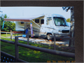 2000 Coachman Georgie Boy Suite 30ft has 2 slide-outs 2 tvssleeps 46 has the Big Foot Auto Lev