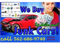Sell Your Junk Car Today562-686-9740WE COME TO YOU WITH CASH Professional Licensed Representa