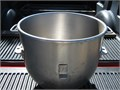40QT stainless steel mixer bowl for a Welbilt Varimixer W40 dough mixer also buying attachments for