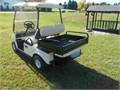 2008 Club Car Gas Golf Cart with a Cargo Box that converts into a rear seat Very Nice 150 golf car