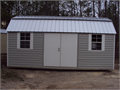 BARN STYLE STORAGE BUILDING 10X20 4145 WITH 6FT DOOR AND 2 INTERIOR LOFTS RTO AVAILABLE  ALSO A 10
