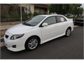 2009 Toyota Corolla S Used 30000 miles Private Party Sedan 4 Cyl Excellent cond Auto 2WD 4