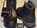 Mens Wolverines Shoes BlackSize8  EWRetails for 12500 Waterproof roughneck leather uppe
