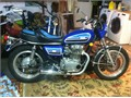 1977 Yamaha XS Antique with only 2000 miles All original except for the seat Sat for a while with
