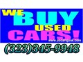 323345-9948  WE BUY CARS IN ANY CONDITION Running Or Not We Come To With You