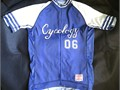 CYCOLOGY LUCKY 6 Adult Mens Medium Cycling Bicycle Jersey Great for road or MTB Vintage baseball