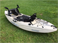 Kayak Malibu Fishing Kayak comfort seat fish finder paddle dry storage rod holders and more 8