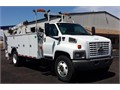 16 K Miles78 Duramax Diesel Allison Automatic AC Air Brakes Omaha 14 Ft Utility Body 3203 A