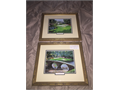 Augusta National Framed  Matted Prints By Jason Denaro 1992 12th  16th Holes Gorgeous Gallery