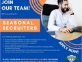 Were looking for SEASONAL RECRUITERS to join our teamThis is a seasonal role with full-time hour