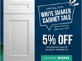 If youve been searching for the perfect white shaker cabinets to complete your home look no furthe