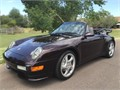 This 1997 Porsche 911 Carrera 4 Cabriolet has only had two owners The soft top in new It was a bui