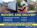 NO TRUCK FEE Same-day service moving moving truck moving company moving help moving jobMIAMI MOV