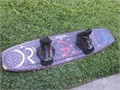 HYDROSLIDE SHADOW WAKEBOARD 142cm  great condition except for a chunk out on one end on top Chaser