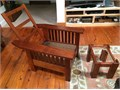 Morris chair of MahoganyCleaned and refinished Dates from 1920s Chair does not have any cushions
