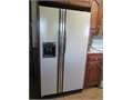 Matching Kitchen Appliances All are Almond Color  Side by side refrigerator with ice  water dispe