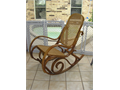 OAK ROCKING CHAIR IN GOOD CONDITIONCALL FOR INFO  972 240 2114  BOB