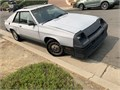 1983 Dodge Shelby  Charger turbocharged 5speed ac stereo all original  clean need paint job runs g