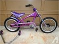 new childs schwinn chopper bike with training wheels10000 814447-3920 cell814506-4052--NO