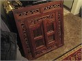 Hand-carved walnut mirror excellent condition 47500 818-568-9788