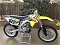 2015 Suzuki RM-Z450  70 hours new top end and timing chain Yoshi ti-exhaust Clean and well mainta
