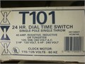 Intermatic T101 time clock NEW in box never been wired for a swimming pool or other onoff applic