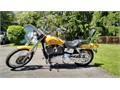 2006 Harley-Davidson Dyna Wide Glide Pearl yellow super clean low miles original owner lots of