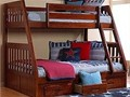 Solid wood sturdy bunkbeds from 195 to 600  twin over twin twin over full full over full  New