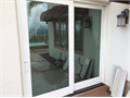 Exterior Interior Sliding Door 94 x 94 Composite Good Condition Working and Looking Good Cosmetica
