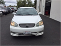 2004 Toyota Corolla S Used 186000 miles Dealer Sedan 4 Cyl White Black Good cond Manual FW