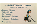 14 yrs of experience doing deep and light house cleaning Very reliable trustworthy and honest hard