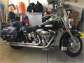 2002 HD Heritage Softail Classic  Excellent condition  Only 5350 miles  New tires new fuel syste